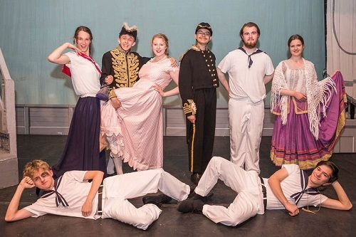 HMS Pinafore, International Gilbert and Sullivan Festival, August 12, 2017.  Photo credits © Jane Stokes (DJ Stotty Images)
