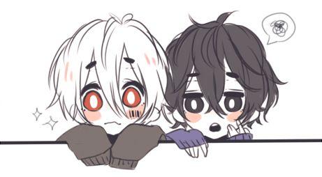 soramafu is peeking!! (ʃ⌣́◒⌣́ƪ)