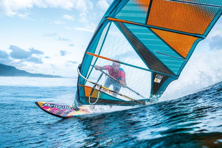 Blow 2016: The Blow is a lightweight, 4-batten compact wave sail.l  #gunsails #Windsurfen #Segel #Mauritius