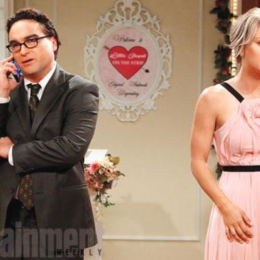 Hot: Big Bang Theory premiere sneak peek: Watch Leonard and Penny head down the aisle