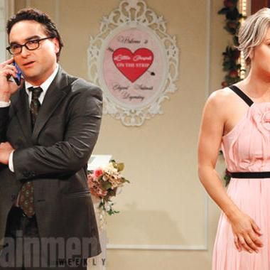 Hot: Big Bang Theory premiere sneak peek: Watch Leonard and Penny head down the aisle
