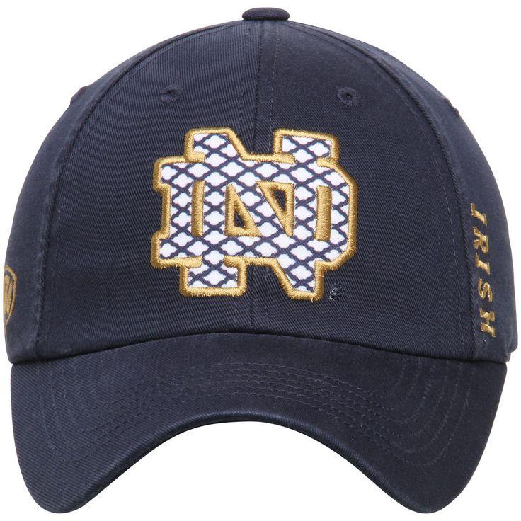 Women's Top of the World Navy Notre Dame Fighting Irish Quadra Adjustable Hat