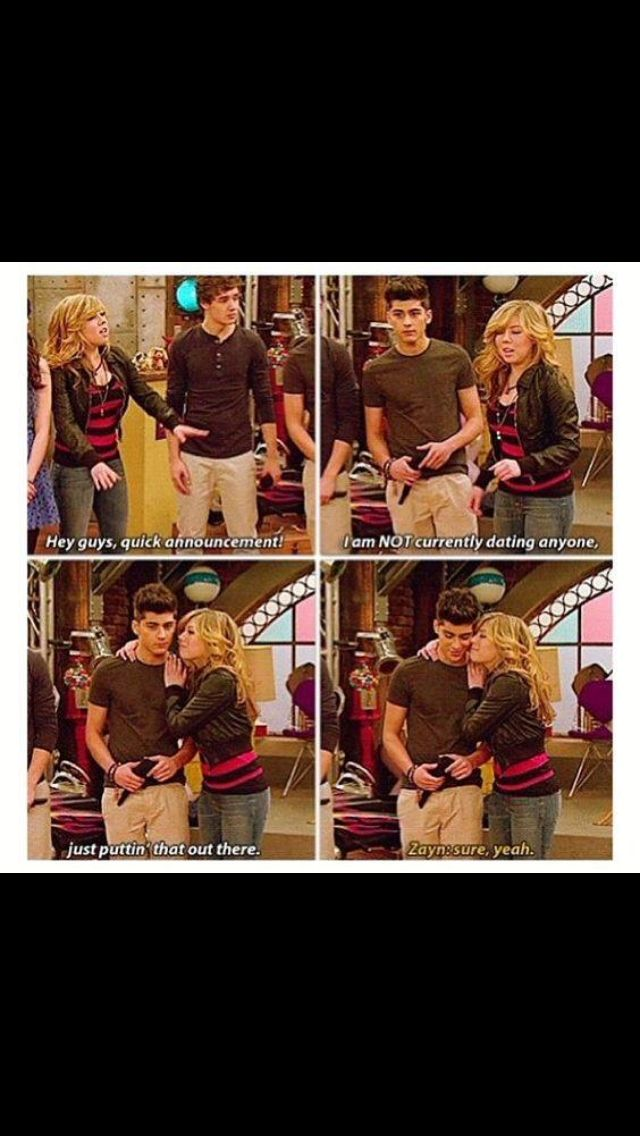 When One Direction was on icarly. Best day of my life