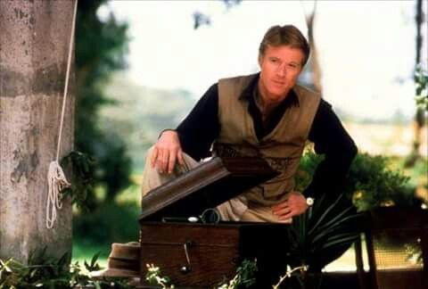 Robert Redford, Out of Africa.