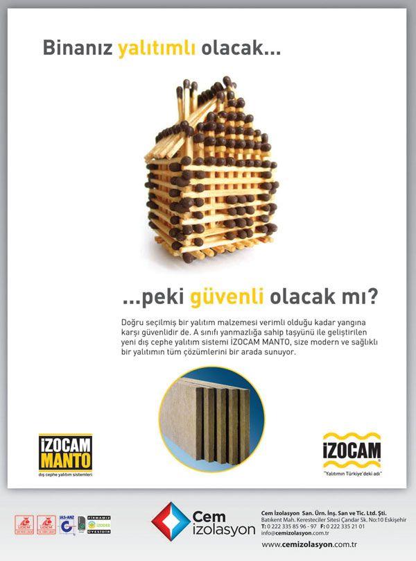 Cem İzolasyon - İzocam Manto - Dış Cephe Yalıtım Sistemleri - www.cemizolasyon.com.tr   Dijimecmua.com