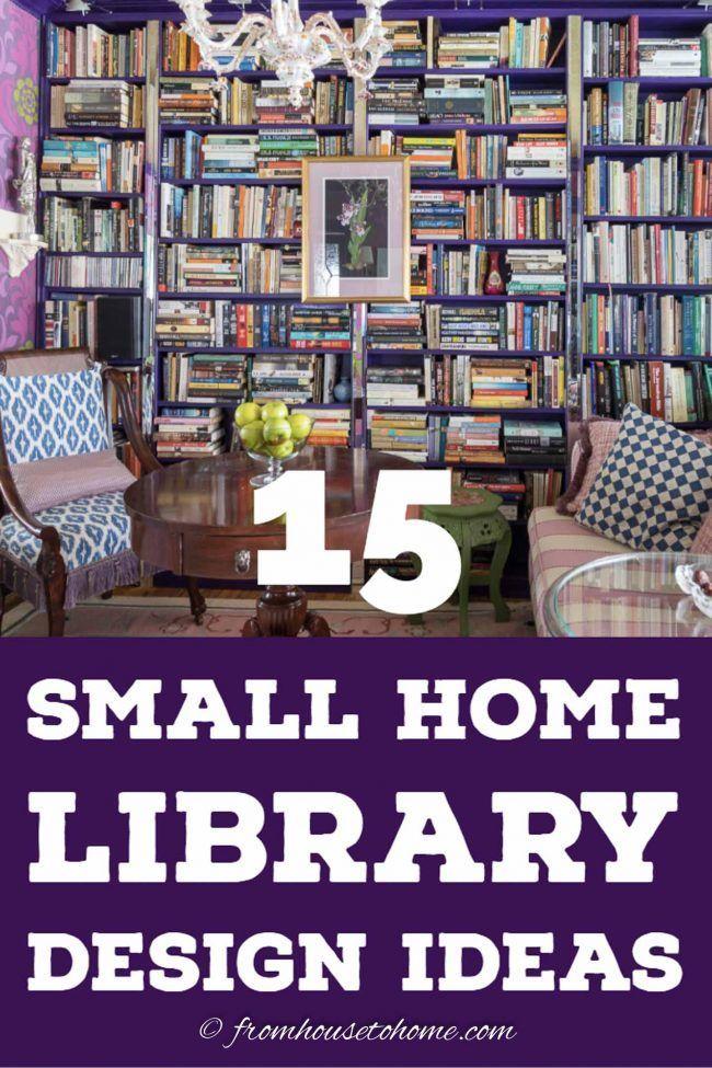 Cozy Reading Room Ideas 15 Creative Small Home Library Design Ideas Cozy Home Library Home Library Design Small Home Libraries