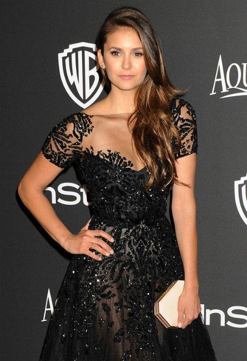1/11 #ニーナ・ドブレフ Golden Globe Awards After Party |海外セレブ最新画像・私服ファッション・着用ブランドまとめてチェック DailyCelebrityDiary*