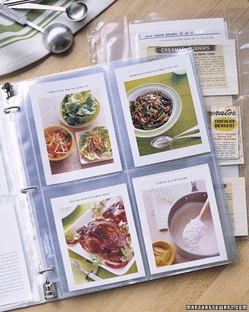 diy cookbook! for our good recipes :)