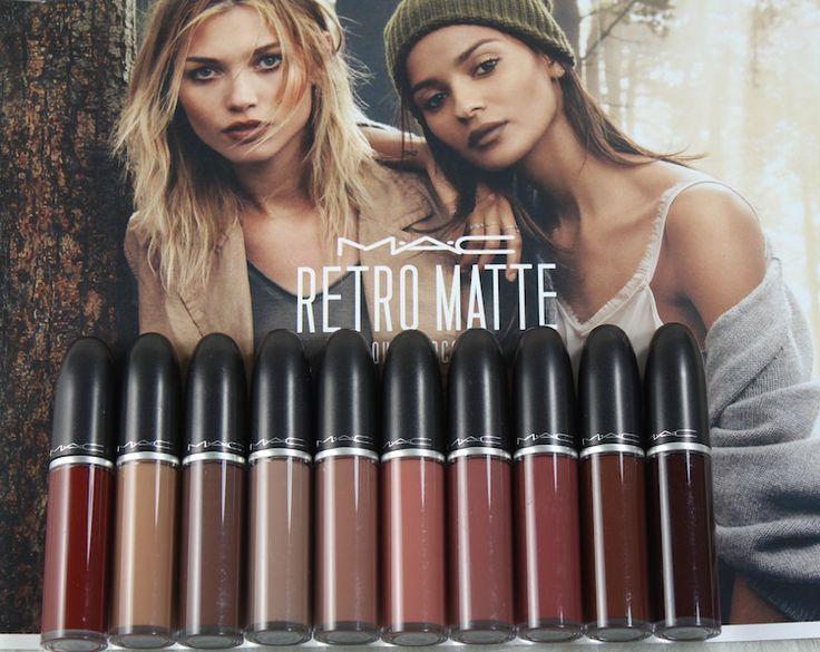 MAC Retro Matte Liquid Lipcolour Collection