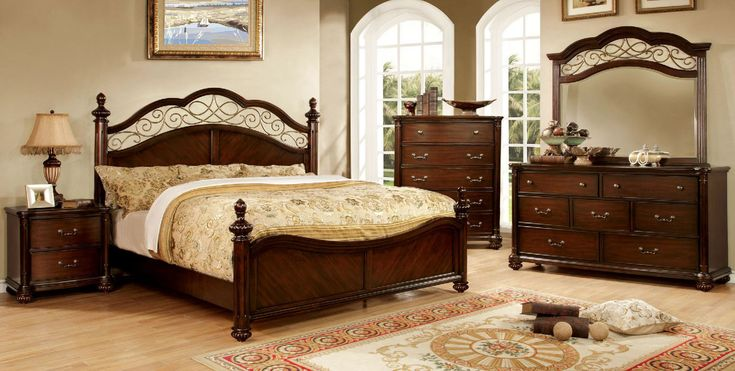 Furniture Of America,Moab California King Bed Collection - CM7278CK
