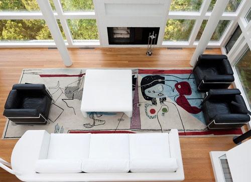 Douglas House by Richard Meier, Lake Michigan