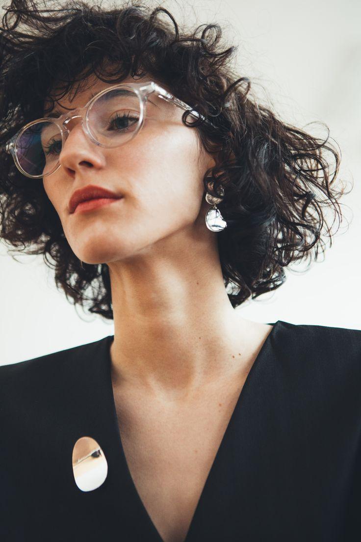 Natalia Siebula x Anna Lawska Jewellery / photo - Piotr Czyż / model - Paulina Kowalik