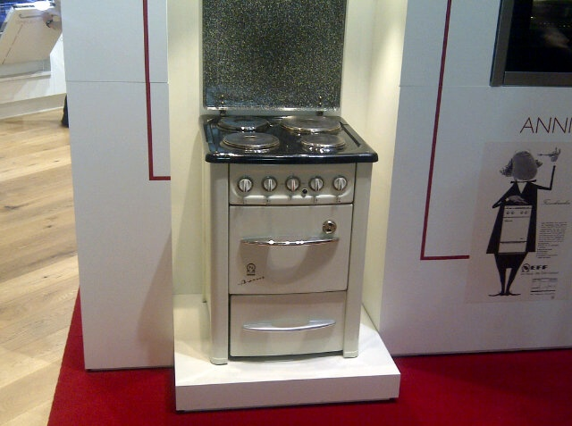 Neff stand at Eurocucina! Neff history: the first cook!