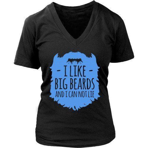 [product_style]-Beard T Shirt - I like Big Beards and I Cannot Lie-Teelime
