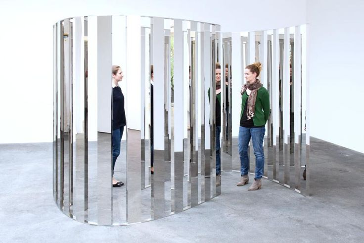 20 best jeppe hein images on pinterest art installations for Mirror installation