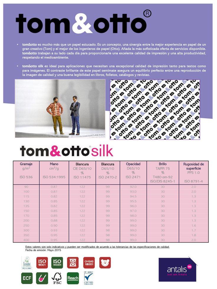 Ficha técnica tom&otto silk