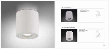 Oprawa natynkowa Rullo bianco Orlicki Design