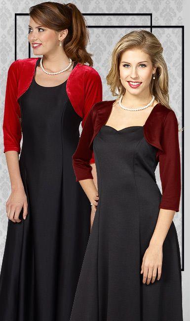 Tuxedo Wholesaler - Concert Attire - Catalog - Womens Wear - Jackets, Shrugs and Vests