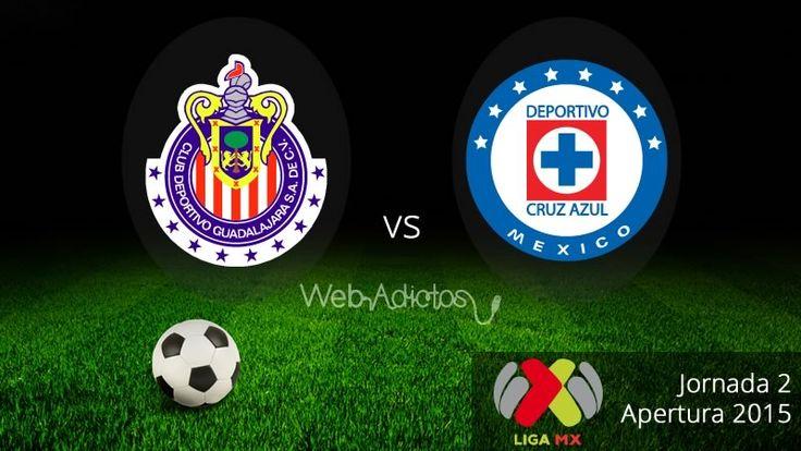 Chivas vs Cruz Azul en el Apertura 2015 ¡En vivo por internet! - http://webadictos.com/2015/08/02/chivas-vs-cruz-azul-apertura-2015/?utm_source=PN&utm_medium=Pinterest&utm_campaign=PN%2Bposts