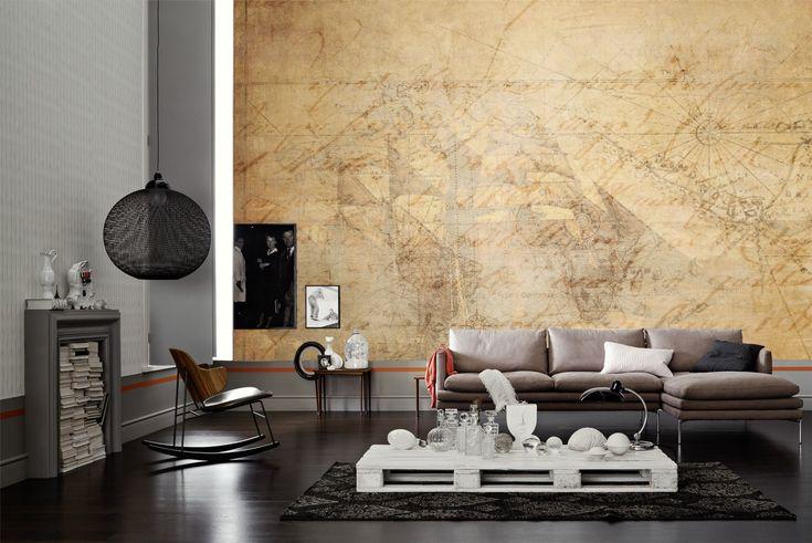tapeten im wohnzimmer; livingwalls fototapete 036760 #industrial