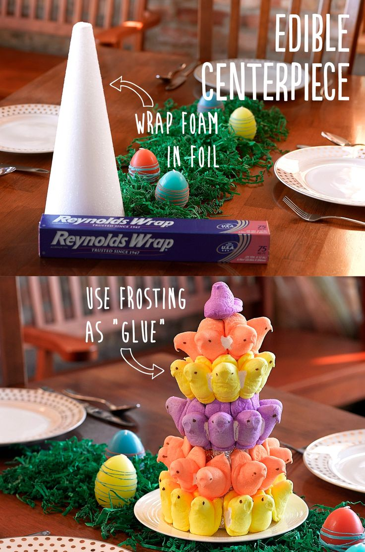 "You don't have to limit yourself to sugar-coated marshmallows to celebrate Easter in a ""chicky"" way! Try these adorable and tasty Easter dessert decorating tips to get into the season and make your dessert table a work of art."