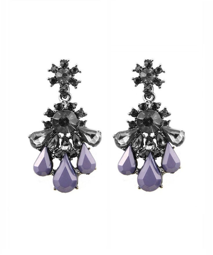 Earrings : Purple Nightfall Earrings