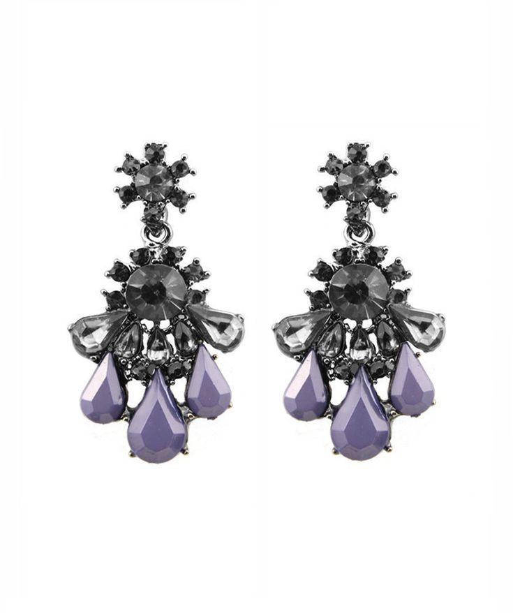 Earrings : Purple Nightfall Earrings