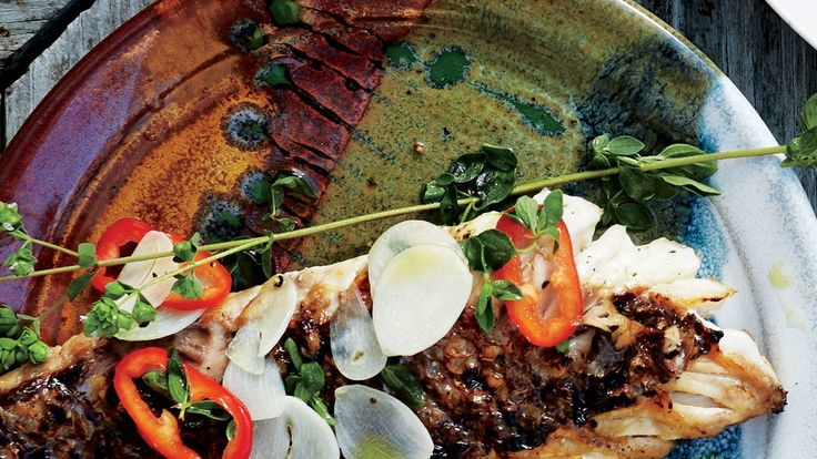 Because it's so delicate, the flesh can break down when marinated first, sometimes causing the fish to fall apart. This snapper escabeche recipe calls for a post-grill bath that delivers flavor without compromising texture.