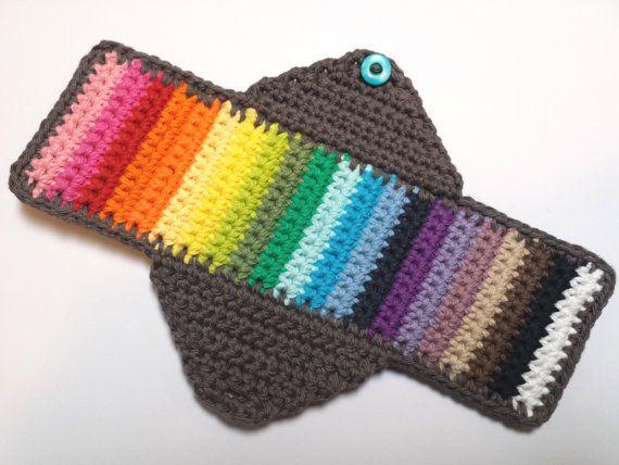 HÄKELANLEITUNG - Feminine Sanitär Menstruation Maxi Pad wiederverwendbare Handmade Stoff nachhaltige waschbar Download
