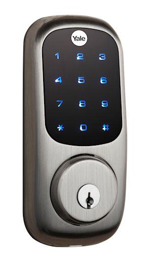 cool door locks. Yale Real Living Touchscreen Deadbolt Lock Cool Door Locks S