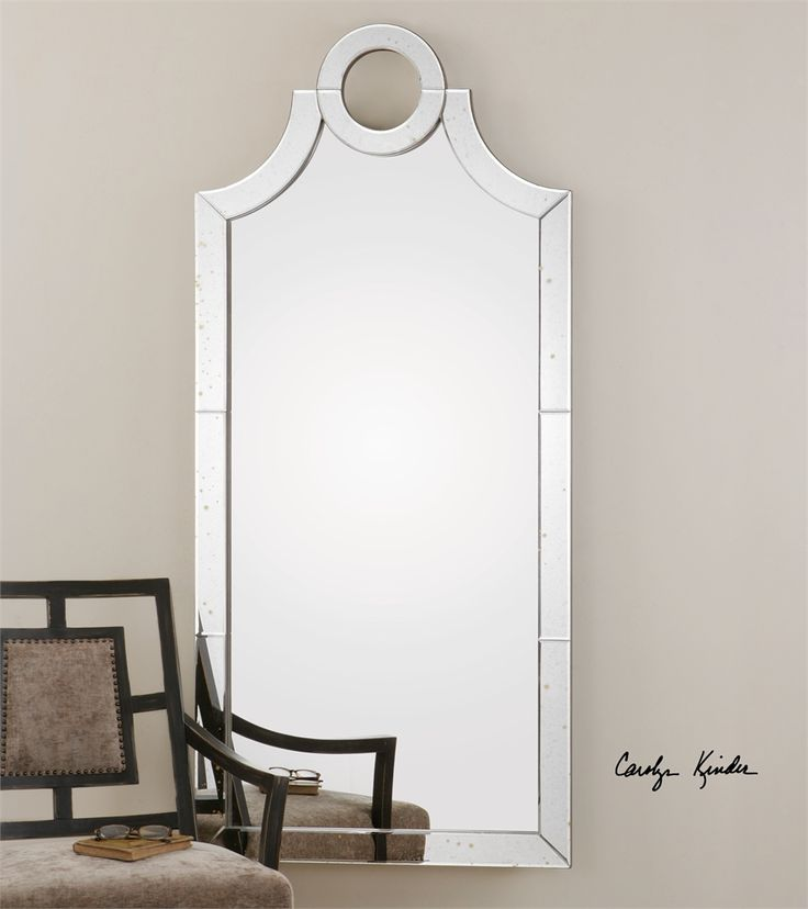 30w x 66 Uttermost Acacius Arched Mirror