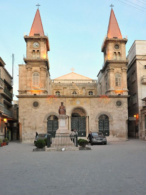 Armenian Church, Aleppo.Still there?