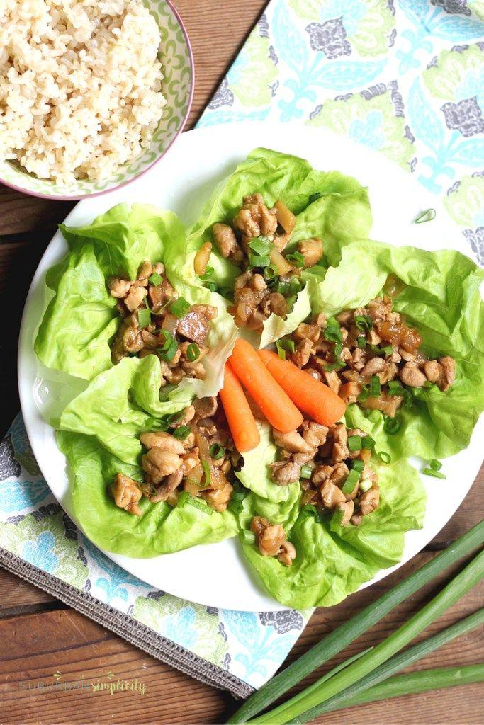 Chicken Lettuce Wraps – A Healthy Comfort Food Recipe