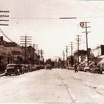 Main Street, Sebastopol, California, circa 1940s