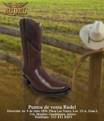 Encuentra tus #botas #Rudel en nuestros puntos de venta #TradicionRudel