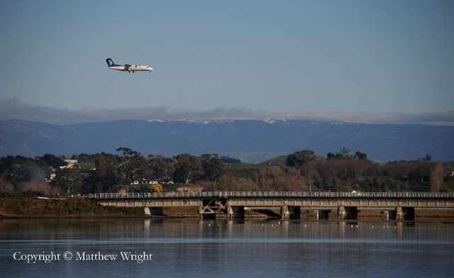 I took this looking west across the Ahuriri lagoon, Napier, New Zealand, winter 2013.