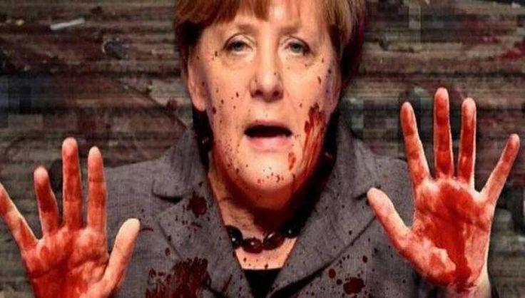 «Η Ανγκελα Μέρκελ έχει στα χέρια της το αίμα των νεκρών»...