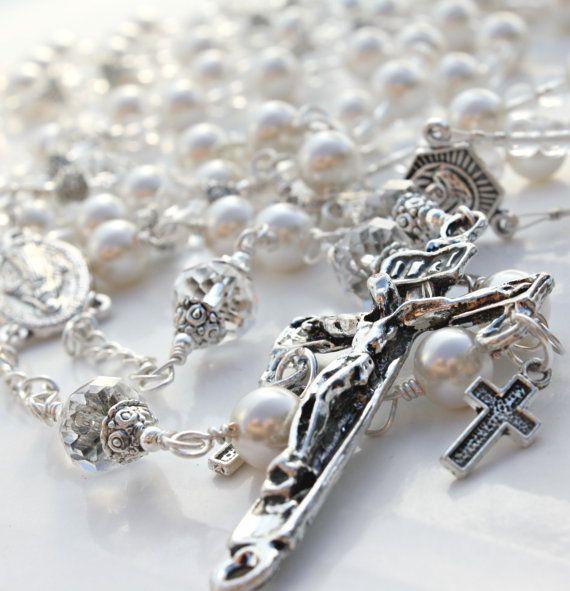 Custom+Rosary+Wedding+Lasso+Wedding+Lazo+by+Theinvisibleprince,+$85.00