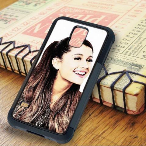 Ariana Grande Cute Smile Samsung Galaxy S5 Case
