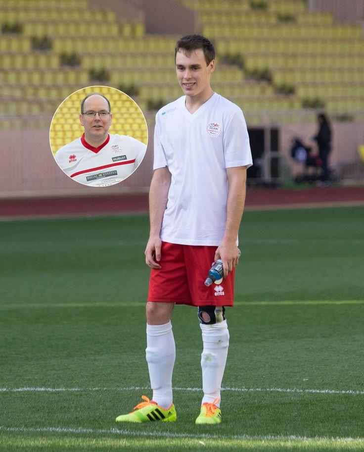 Louis Ducruet: Fußball mit Fürst Albert | GALA.DE