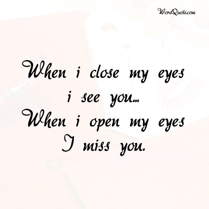 I Miss You Quotes For Him: I Miss U Quotes For Him And Her