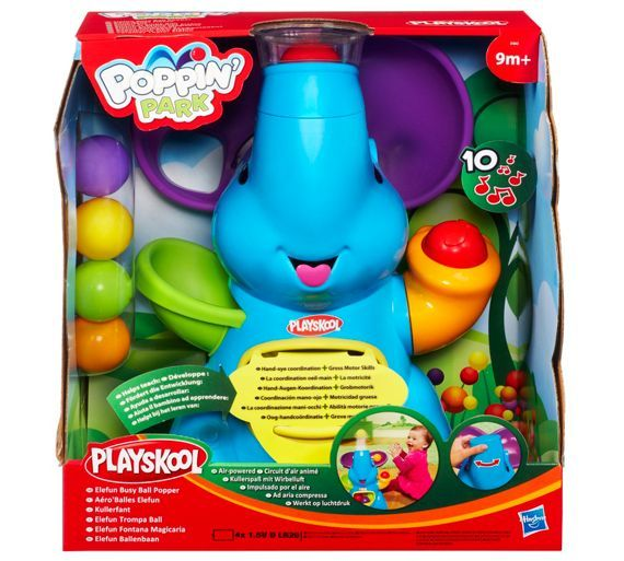 Buy Playskool Poppin' Park Elefun Busy Ball Popper at Argos.co.uk, visit Argos.co.uk to shop online for Baby activity toys, Baby toys, Baby and nursery