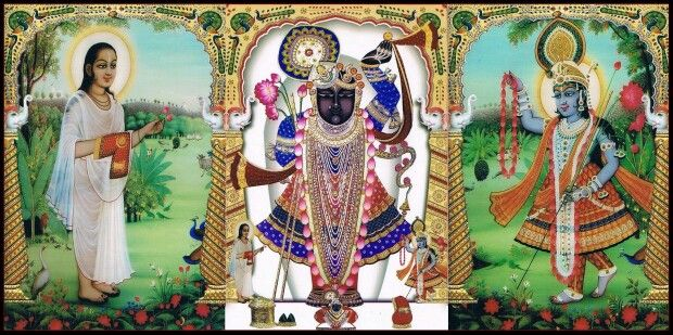 Popular Shrinathji Yamunaji Mahaprabhuji Images for free download