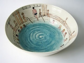 Helen Beard - Swimming pool pottery