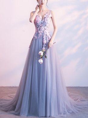 Hochwertige 3D Blumen Eleganter Abend | BeMyBridesmaid   – Vestidos