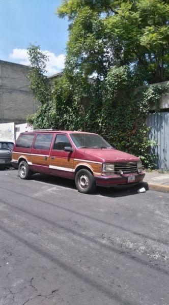 Chrysler Voyager Familiar 1990 | Azcapotzalco | Vivanuncios | 122588973