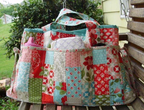 The Stella Diaper Bag Pattern Release