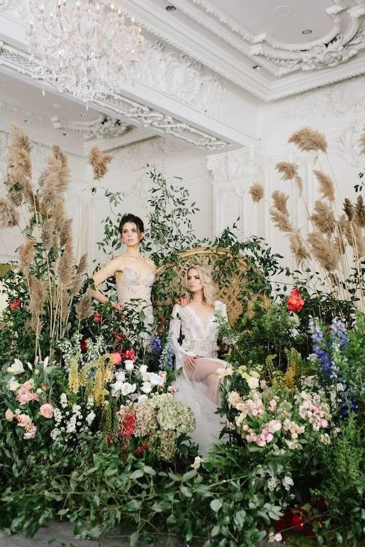 Garden Inspired Bohemian Toronto Wedding - MODwedding