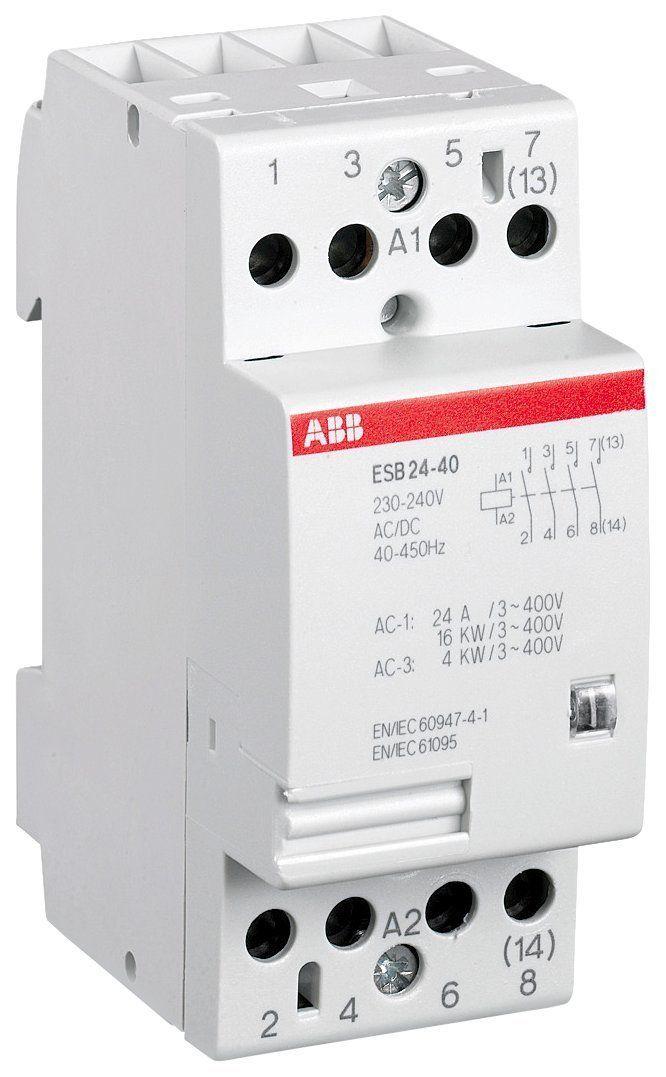 ABB ESB24-40-230V Contacteur d'installation (Import Allemagne): Amazon.fr: Bricolage