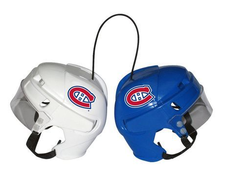 Montreal Canadien Habs Mini Hockey Helmets
